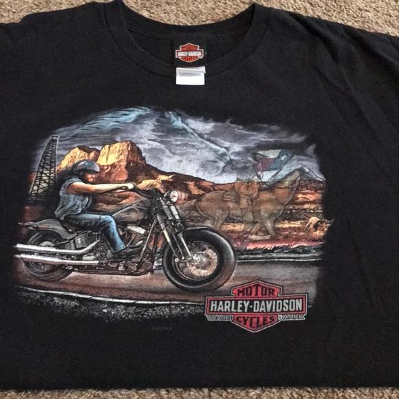 Harley Davidson San Antonio >> Harley Davidson San Antonio Tx T Shirt